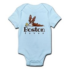 Colored Boston Lover Body Suit