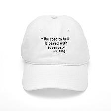 Road To Hell Adverbs Baseball Cap