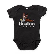 Colored Boston Lover Baby Bodysuit