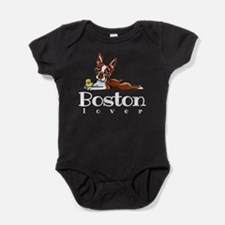 Colored Boston Lover Baby Bodysuit