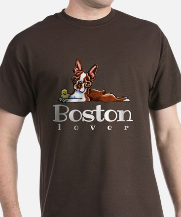 Colored Boston Lover T-Shirt
