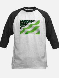 Green flag Baseball Jersey