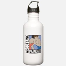 Wrestling Pain Water Bottle