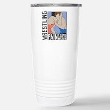 Wrestling Pain Stainless Steel Travel Mug