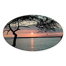 Sunset Carmel, Ca. Oval Decal