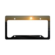 NL Sunset License Plate Holder