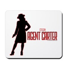 Agent Carter Red Mousepad