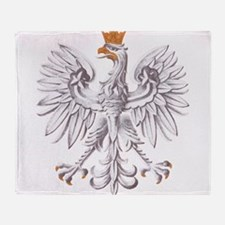Poland Coat of arms Throw Blanket