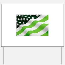 Green flag (ecology) Yard Sign