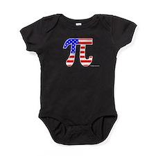 American Pi Baby Bodysuit