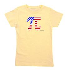 American Pi Girl's Tee