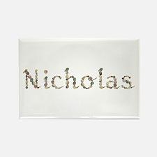 Nicholas Seashells Rectangle Magnet