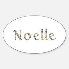 Noelle Seashells Oval Decal