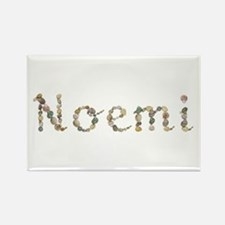 Noemi Seashells Rectangle Magnet