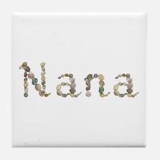 Nana Seashells Tile Coaster
