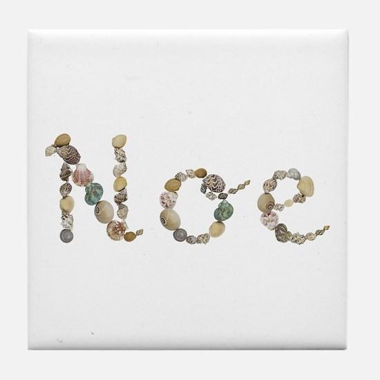 Noe Seashells Tile Coaster