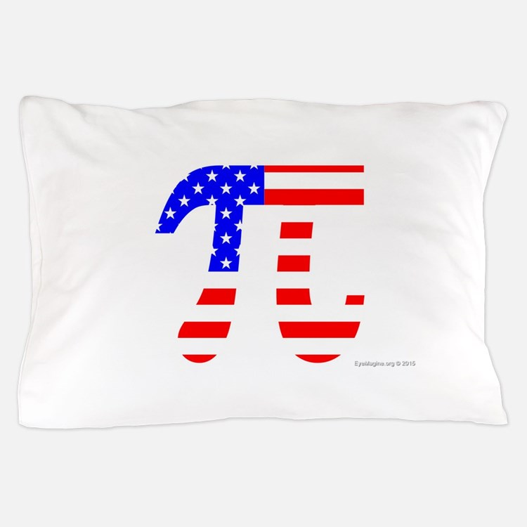 American Pi Pillow Case