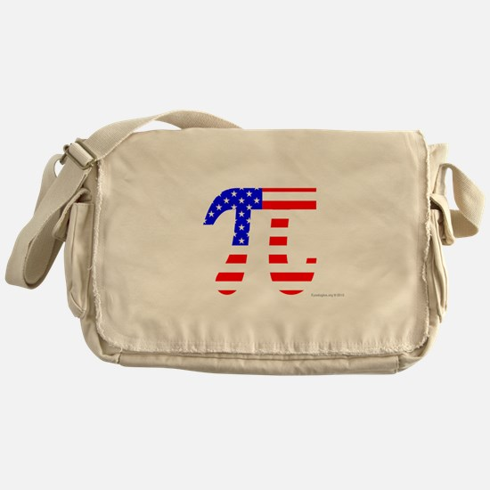 American Pi Messenger Bag