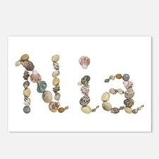 Nia Seashells Postcards 8 Pack