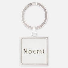 Noemi Seashells Square Keychain