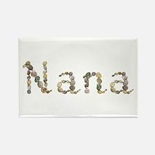 Nana Seashells Rectangle Magnet 10 Pack