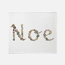 Noe Seashells Throw Blanket