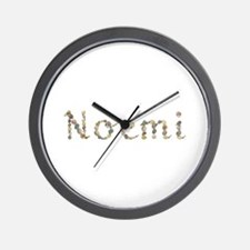 Noemi Seashells Wall Clock