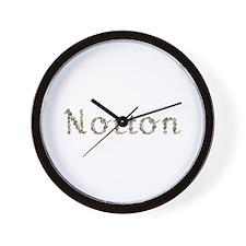 Norton Seashells Wall Clock