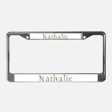 Nathalie Seashells License Plate Frame