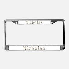 Nicholas Seashells License Plate Frame