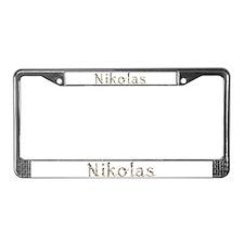 Nikolas Seashells License Plate Frame