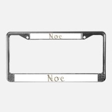 Noe Seashells License Plate Frame