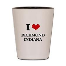 I love Richmond Indiana Shot Glass