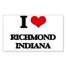 I love Richmond Indiana Decal