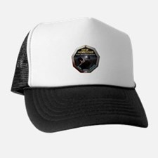 New Horizons Decal With Flag Trucker Hat
