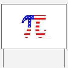 American Pi Yard Sign