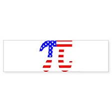 American Pi Bumper Bumper Sticker