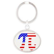 American Pi Keychains