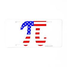 American Pi Aluminum License Plate