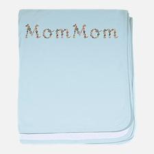 Mommom Seashells baby blanket