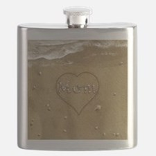 Mom Beach Love Flask