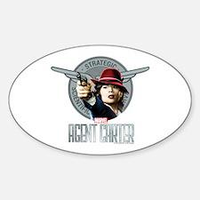 Agent Carter SSR Sticker (Oval)