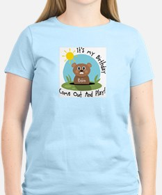 Robin birthday (groundhog) T-Shirt