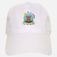 Robin birthday (groundhog) Baseball Baseball Cap