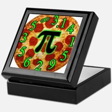 Pizza Pi Keepsake Box
