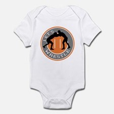 Let's Wrestle Infant Bodysuit