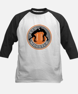 Let's Wrestle Kids Baseball Jersey