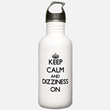Keep Calm and Dizzines Water Bottle