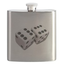 Lucky Dice Flask