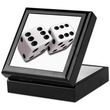 Lucky Dice Keepsake Box